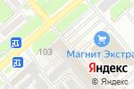 Схема проезда до компании Виноград в Георгиевске
