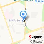 Дзержинский предприниматель на карте Дзержинска