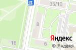 Схема проезда до компании Сити Мед в Дзержинске