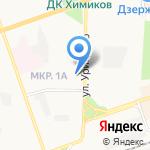 Маэстро на карте Дзержинска