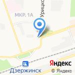 Ваш стоматолог на карте Дзержинска