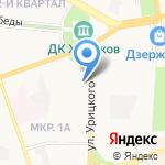 Саманд на карте Дзержинска
