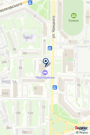 ГОСТИНИЧНЫЙ КОМПЛЕКС ЧЕРНОРЕЧЬЕ на карте Дзержинска