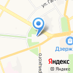 Магазин квартир на карте Дзержинска