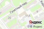 Схема проезда до компании Юридическое агентство в Дзержинске