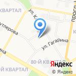 Юридическое агентство на карте Дзержинска