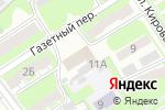 Схема проезда до компании FINN GID в Дзержинске