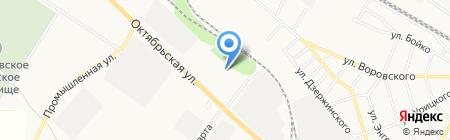 Минераловодское дорожно-ремонтное строительное управление на карте Георгиевска