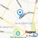 Электра-Д на карте Дзержинска