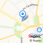 Априори на карте Дзержинска