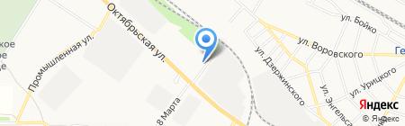 Матр-АС на карте Георгиевска
