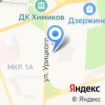 МИРРА на карте Дзержинска