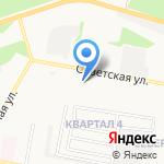 Средняя общеобразовательная школа №3 на карте Дзержинска