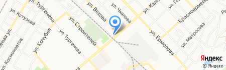 Фортуна-Тур на карте Георгиевска