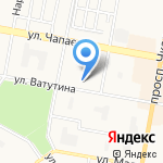 Школа №26 на карте Дзержинска