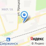 2 отряд ФПС по Нижегородской области на карте Дзержинска