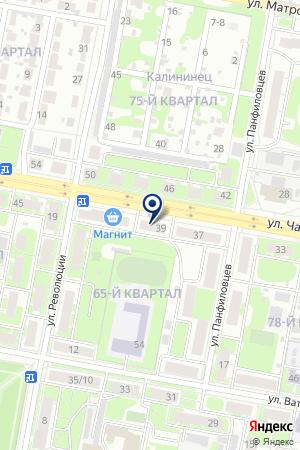 Спасибо на карте Дзержинска