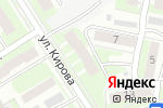 Схема проезда до компании Родина в Дзержинске