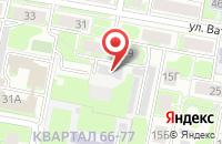 Схема проезда до компании Наис-Дзержинск в Дзержинске