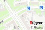 Схема проезда до компании Магика в Дзержинске