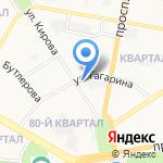 НОФ на карте Дзержинска