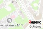 Схема проезда до компании Франт в Дзержинске