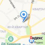 Франт на карте Дзержинска
