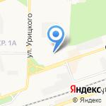 Управление архитектуры и градостроительства на карте Дзержинска