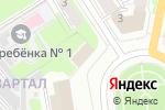 Схема проезда до компании Департамент финансов в Дзержинске