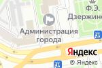 Схема проезда до компании Управление развития предпринимательства, потребительского рынка и защиты прав потребителей в Дзержинске