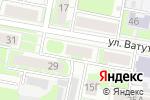 Схема проезда до компании Мечта в Дзержинске