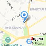 Торгово-промышленная палата г. Дзержинска на карте Дзержинска