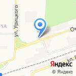 Целитель на карте Дзержинска