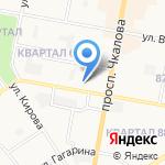 Средняя общеобразовательная школа №5 на карте Дзержинска