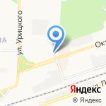 Валентина на карте Дзержинска