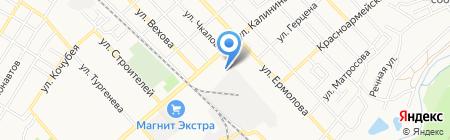 Мировые судьи г. Георгиевска и Георгиевского района на карте Георгиевска