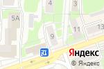 Схема проезда до компании Валентина в Дзержинске