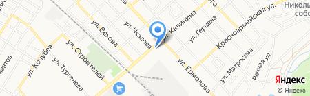 Авто line на карте Георгиевска