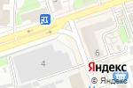 Схема проезда до компании Киоск по продаже табачных изделий в Дзержинске