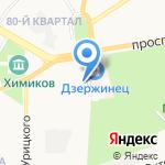 Парк на карте Дзержинска