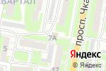 Схема проезда до компании Чкаловский в Дзержинске