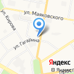Дзержинск-металл на карте Дзержинска