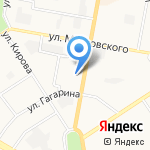 Чкаловский на карте Дзержинска