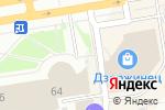 Схема проезда до компании Киоск фастфудной продукции в Дзержинске