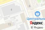 Схема проезда до компании БЕТОНИКА в Дзержинске