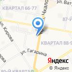 Реестр на карте Дзержинска
