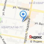 Дзержинский техникум бизнеса и технологий на карте Дзержинска