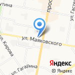 Мир Пива на карте Дзержинска