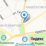 Респект на карте Дзержинска