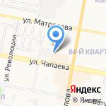 Сервис А на карте Дзержинска